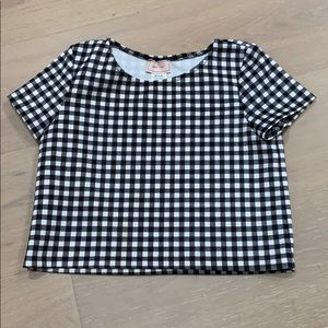 Youth Girls popped top shirt